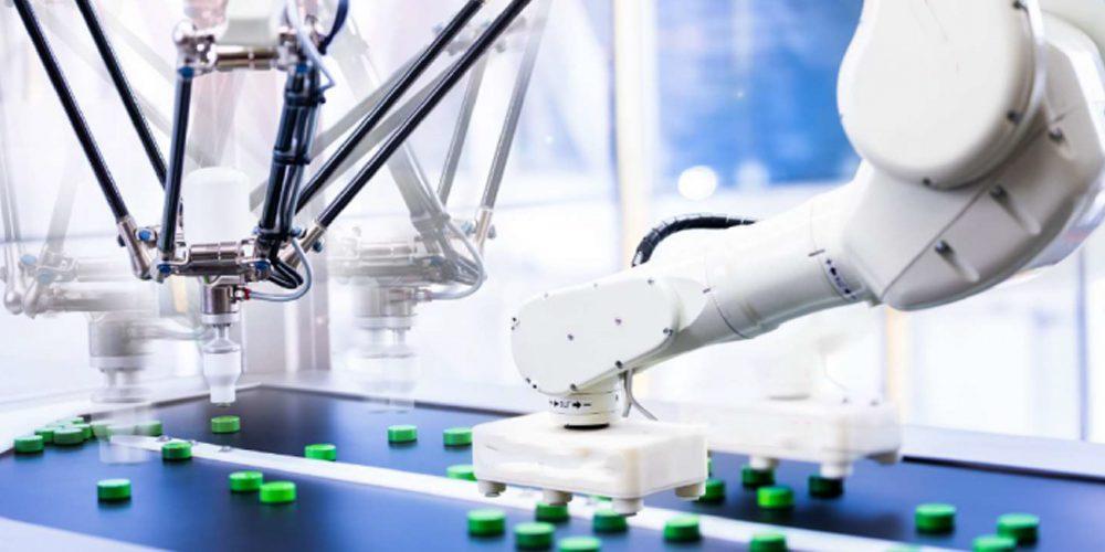 Pose d'étiquettes robotisée